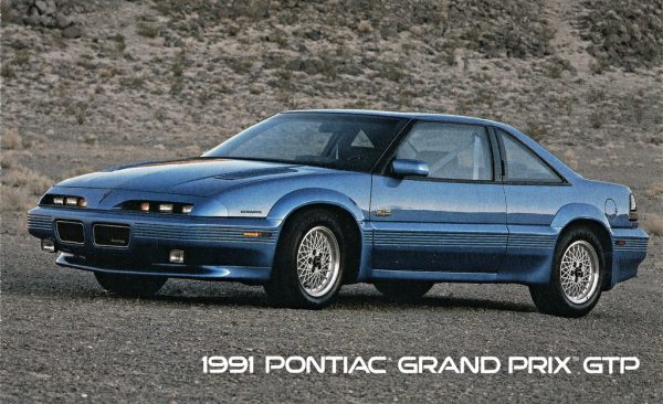 coal 1991 pontiac grand prix gtp gargantuan timing problems curbside classic coal 1991 pontiac grand prix gtp