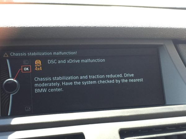 iDrive errors on 2011 BMW X5
