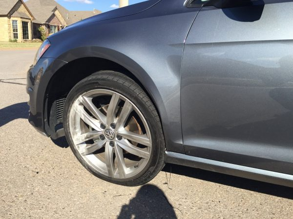 2015 Golf SportWagen, Damaged