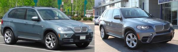 Pre- vs. Post-Facelift X5