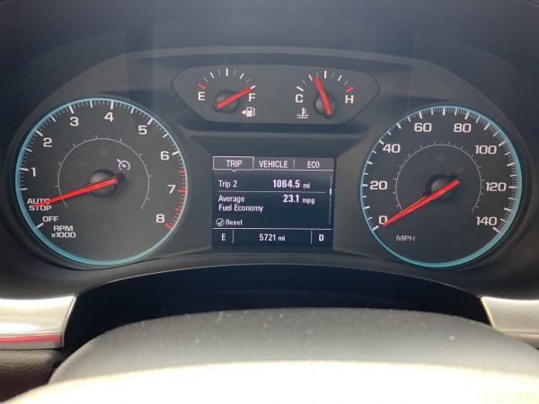 2019 Chevrolet Traverse Fuel Economy