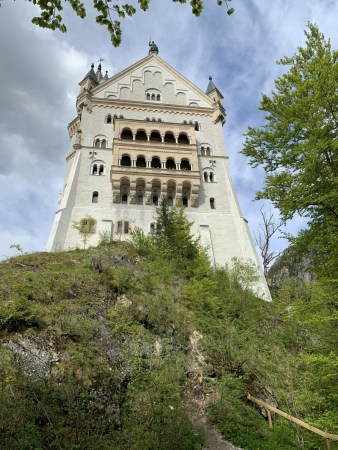 Neuschwanstein Castle up close