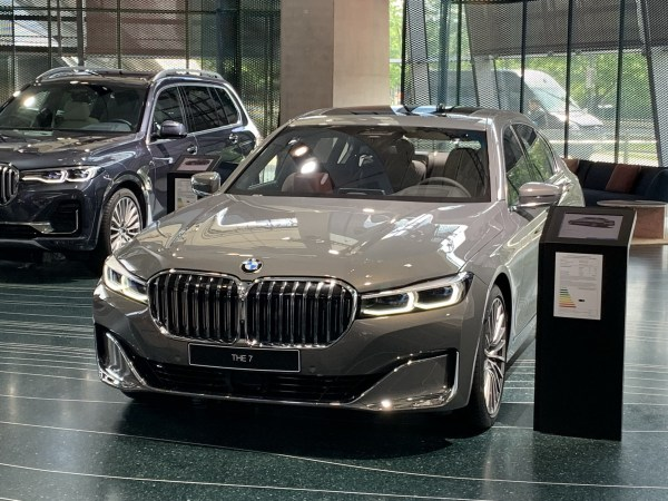 The Revised 2020 BMW 7 Series