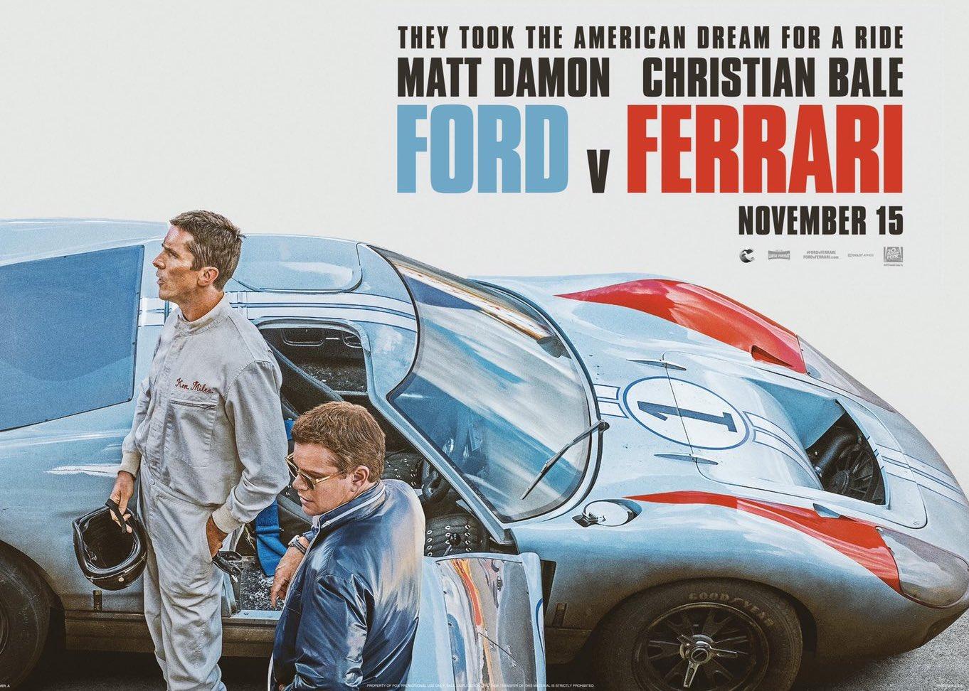 Cc Cinema Ford V Ferrari Curbside Classic