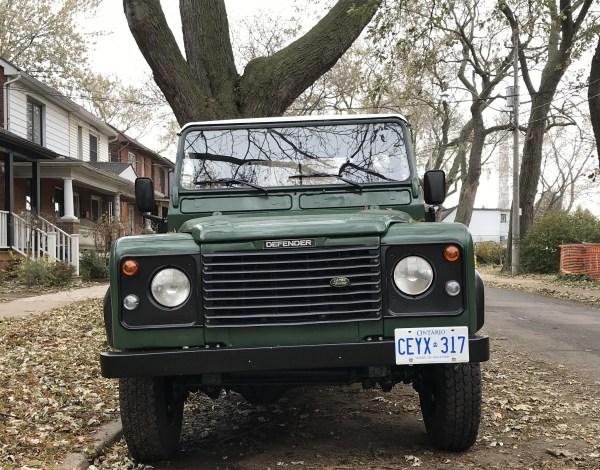 Land Rover Defender 110 Pickup CC Cohort WIlliam Oliver
