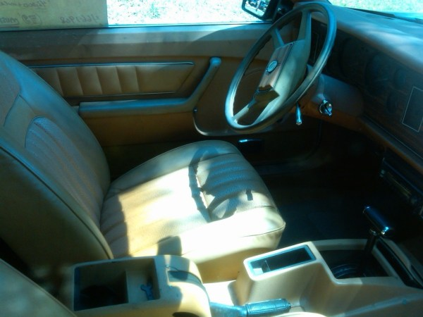 1979 Mustang interior