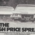 In May 1971, Motor Trend was deliberately provocative with an article comparing the best-selling product from General Motors' prestige division with the prestige product from the company's best selling division.  […]