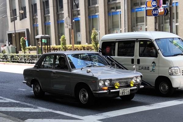 Nissan Bluebird 510 (front)