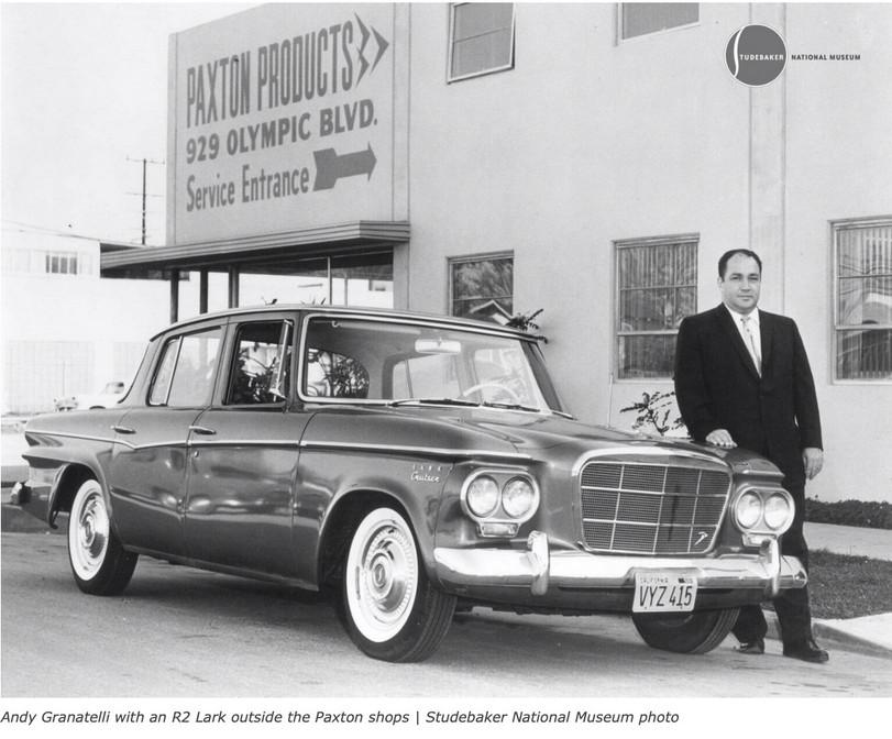 1960-1966 STUDEBAKER LARK AVANTI OIL FILLER CAP DECAL