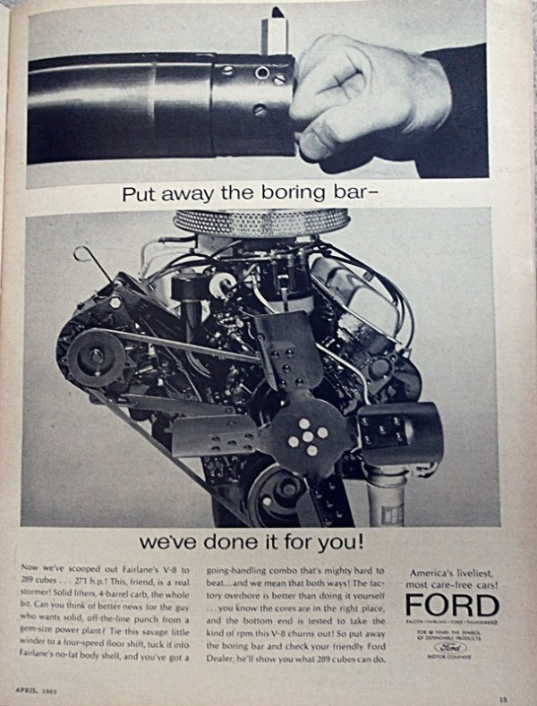 Ford 289 High Performance
