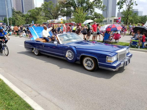 2019 Houston Art Car Parade: Mayor Sylvester Turner