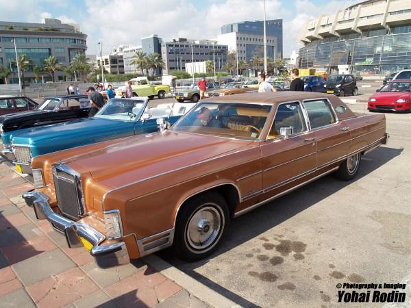1978 Brown Lincoln Continental Town Car