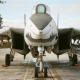 Now who doesn't like the F-14 Tomcat. Well, except for an opposing pilot who sees this look in their rear view mirror.
