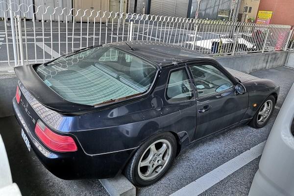 Porsche 968 (3/4 rear)