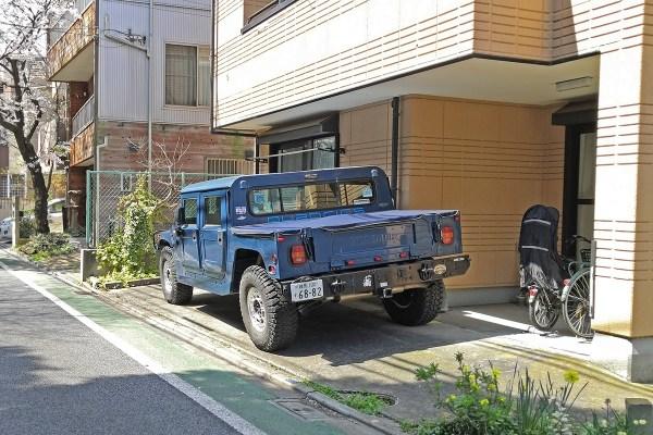 Hummer H1 (rear)
