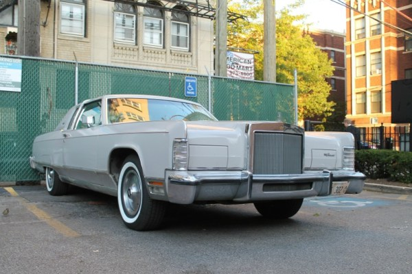 1977 Lincoln Continental Town Coupe, shot 7 of 8