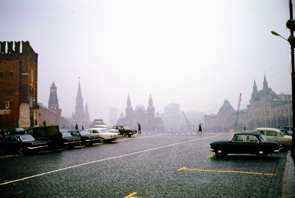 1973 Red Square Moscow