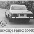 The great irony of Olds's introduction of its new big diesel V8 cars is that it came out just shortly before the only other large diesel sedan: the Mercedes 300SD. […]