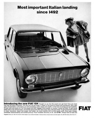 1967 Fiat 124 Ad