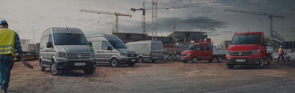 VW Crafter line-up