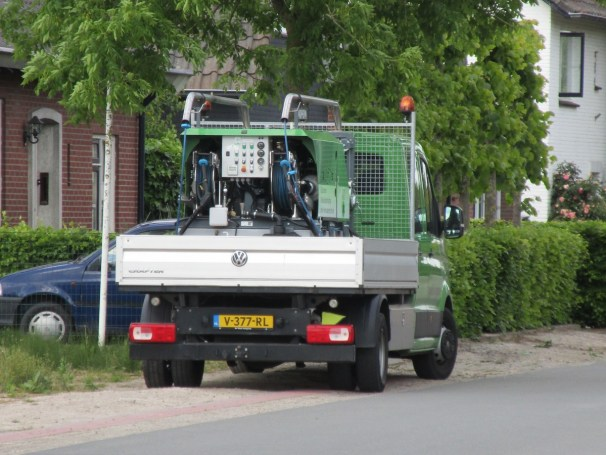 VW Crafter flatbed truck - 3