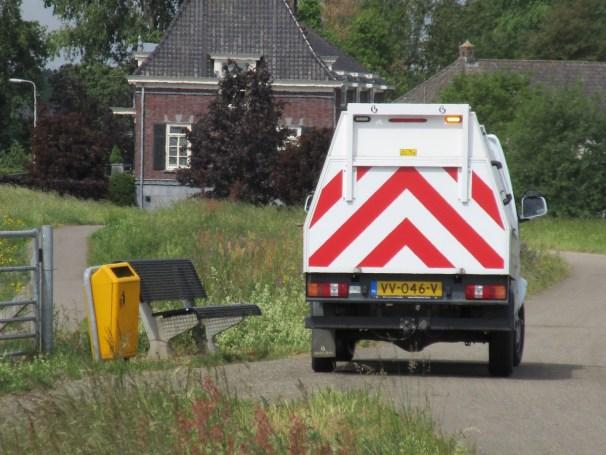 DFSK garbage truck - 1