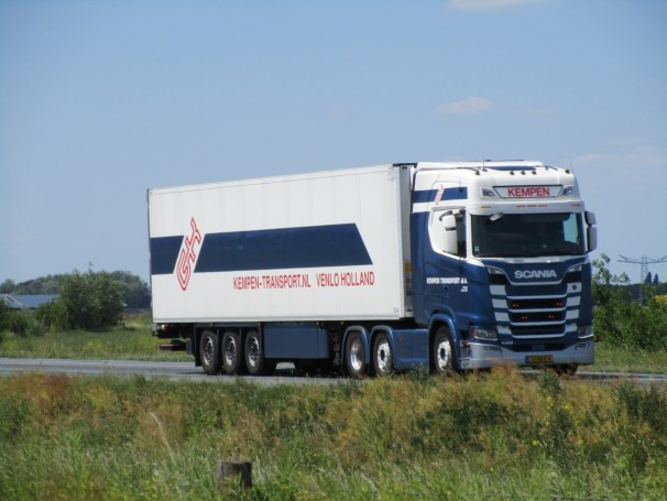 Scania S500 tractor