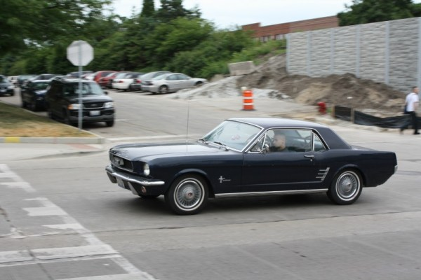 1966 Ford Mustang notchback.