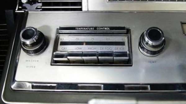 1966 Lincoln Automatic Temperature Control
