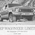 This 1978 review of the newly-introduced Jeep Wagoneer Limited provides an interesting perspective, as it was right about the time that the Wagoneer morphed from being a genuine utility 4×4 […]
