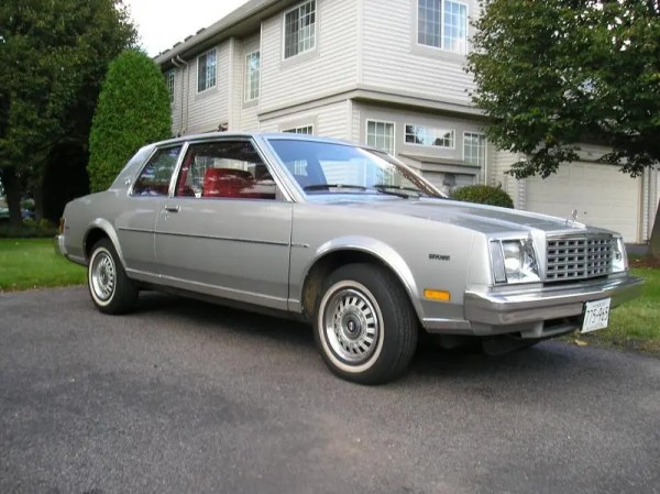 1980 Buick Skylark, similar to mine but different color