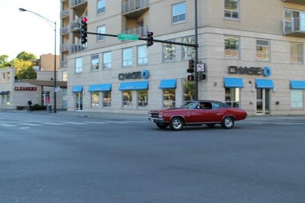 1970 Chevrolet Chevelle Super Sport. Uptown, Chicago, Illinois. Sunday, 10/13/2013.