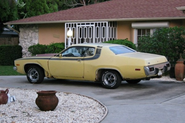 1973 or '74 Plymouth Road Runner.