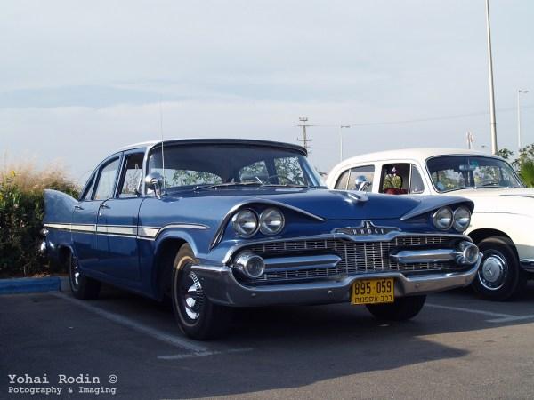 Blue 1958 Dodge Viscount