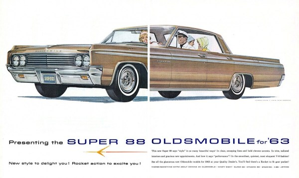 1963 Oldsmobile Super 88 ad
