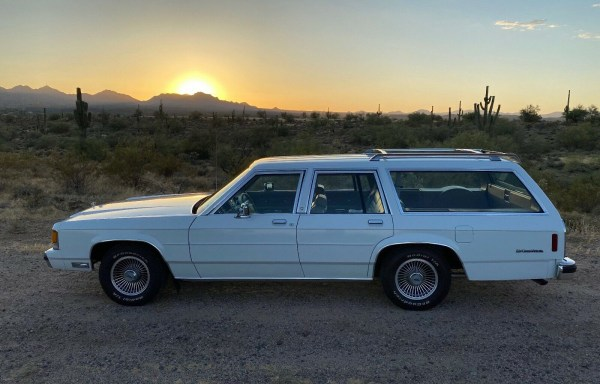 cc for sale 1991 ford crown victoria lx station wagon last hurrah for the wagonmaster curbside classic 1991 ford crown victoria lx station