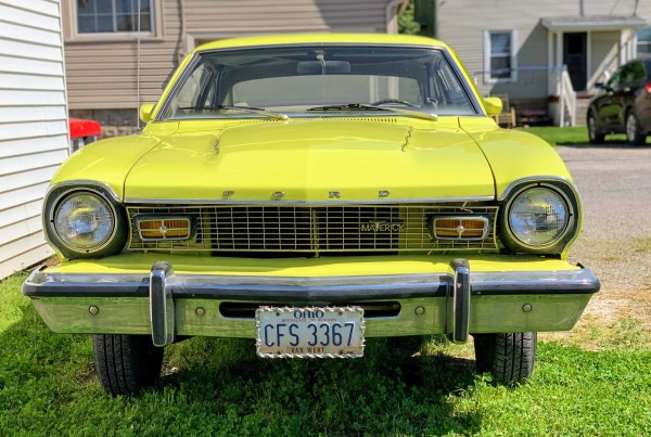 1974 Ford Maverick Front