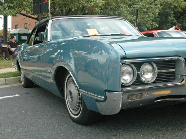 1967 Oldsmobile Delmont 88 convertible side