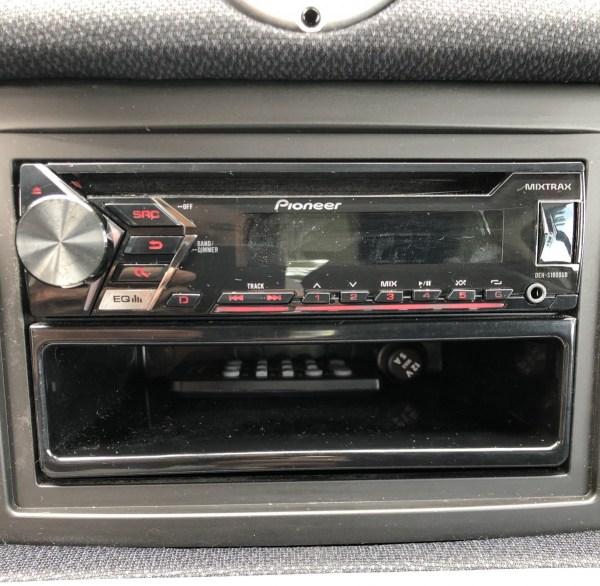 A Panasonic stereo
