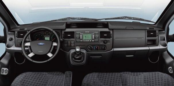 Ford Transit Mk7 dashboard
