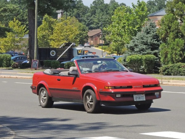 1989 Pontiac Sunbird GT Turbo Convertible