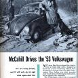 A while back, we posted Tom McCahill's review of the 1956 Volkswagen. By then, his love for it was already in full bloom. But that started earlier, with this review […]