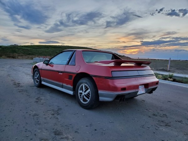 rear of Fiero