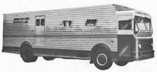 1060's Highway Products Postal Bus