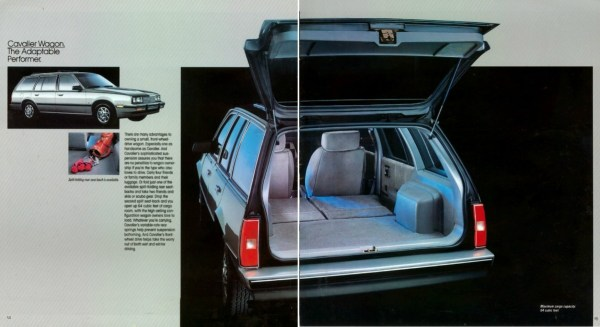 1984 Chevrolet Cavalier Wagon brochure photo.