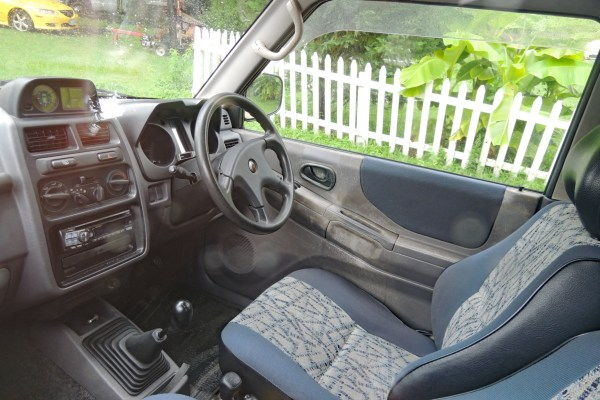 1995 Mitsubishi Pajero Mini VR-II interior