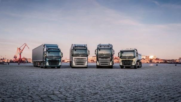 Volvo heavy trucks line-up