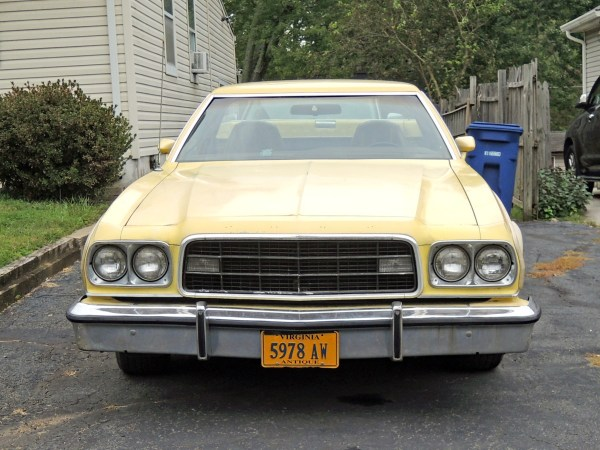 1973 Ford Ranchero Squire front