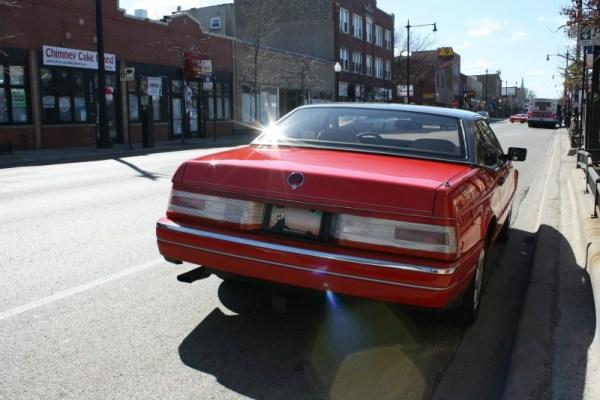 c. 1990 Cadillac Allante. Rogers Park, Chicago, Illinois. March 28, 2011.