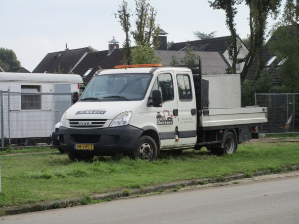 2007 Iveco Daily 40C12 crew cab flatbed truck